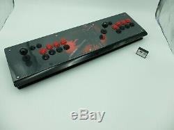 Pandora box 6 retro game dual panel 2200 8mm thickness acrylic