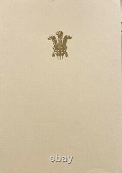 Prince Charles 1971 Signed Christmas Card To The Prime Minister of New Zealand
