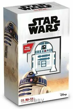 R2-D2 CHIBI COIN COLLECTION STAR WARS SERIES 2020 1 oz Silver Proof Coin NIUE