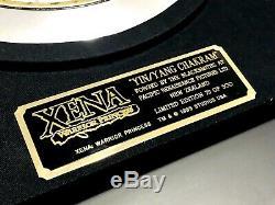 RARE Xena Limited Edition Ying Yang Chakram Prop Rep #79 of 500! Creation Ent