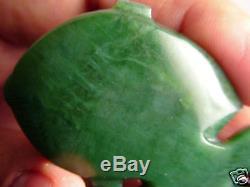 RICHARD ANDERSON Greenstone Pounamu MAORI Nephrite Jade NEW ZEALAND Hei Tiki