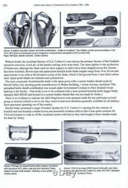 RNZAF 1943 GUNG HO Bowie Knife as used by USMC CARLSONS RAIDERS New Zealand-Made