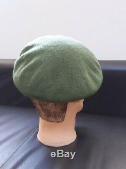 RNZIR Vietnam War Green BERET 1970 Rare Large Size New Zealand 58cm