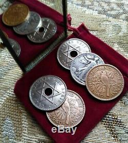 Rare Magic 1940 CSB Copper/Silver/Nickel Utility Coin Set African New Zealand US