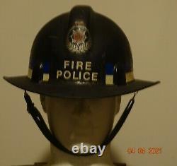 Rare New Zealand Fire helmet