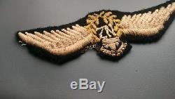 Rare Original early New Zealand Pilots Wings WW2. RNZAF
