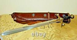 Rare Xena Warrior Princess Sword Prop Replica With Scabbard