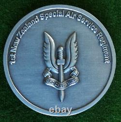 Recipient NAMED New Zealand Special Air Service REGIMENT Unit CHALLENGE COIN