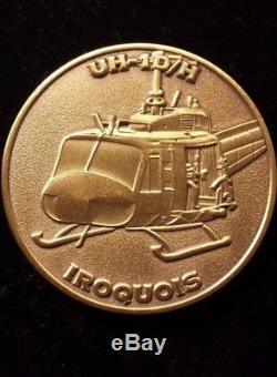 Royal New Zealand Air Force Challenge Coin RNZAF 3rd Squadron Iroquois UH-1D