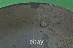 SCARCE New Zealand Made 1941 Dated Mark 2 BRODIE Steel Helmet 100% ORIGINAL