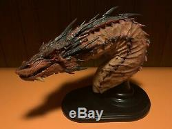 SMAUG THE TERRIBLE BUST EDITION WETA (USED) with Box