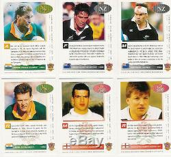 SPORTS DECK (South Africa) RUGBY CARD SET 1994 Springboks New Zealand England