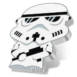 STAR WARS CHIBI Stormtrooper 1oz silver coin