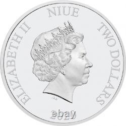 STAR WARS STAR WARS SEASONS GREETING 2020 Niue silver coin