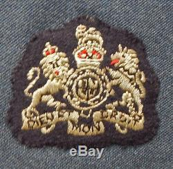 SUPERB Genuine WW2 era PILOT'S WINGS on Royal NEW ZEALAND Air Force WithO's Tunic