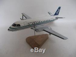 Saab 340 SF-340 New Zealand Airlink Airplane Desktop Wood Model