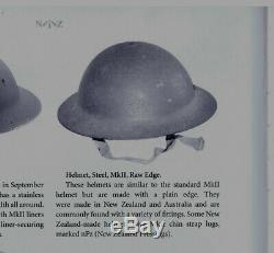 Scarce Mk2 RAW EDGE 100% Original NEW ZEALAND Made WW2 Era BRODIE Steel HELMET