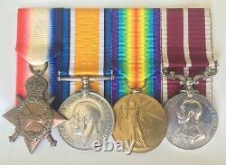 Scarce WW1 ANZAC N. Z MERITORIOUS SERVICE MEDAL (M. S. M.) NEW ZEALAND ARTILLERY