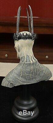 Sideshow Weta Lord Rings LOTR Witch-King Of Angmar True Form bust! #480/ 2000