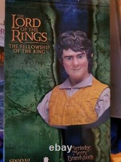 Sideshow Weta Lord of the rings Meriadoc'Merry' Brandybuck 1/4 scale Bust