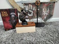 Sideshow Weta Uruk-hai Swordsman Bust Limited Ed. Lord of The Rings Lotr/Hobbit