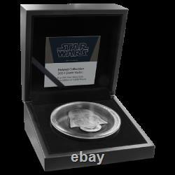Star Wars Helmets Darth Vader Helmet Ultra High Relief 2oz Silver Coin