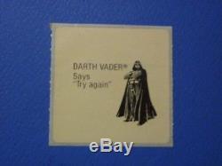 Star Wars New Zealand Kelloggs 1983 sticker