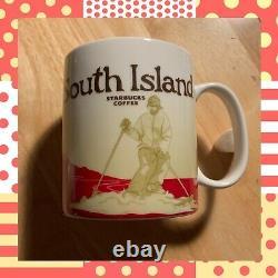 Starbucks South Island Cup New Zealand Global Icon Collector Series Coffee Mug