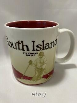 Starbucks South Island (New Zealand) Mug Global Icon Series 2008