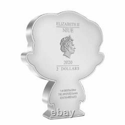 THE JOKER CHIBI COIN COLLECTION DC SERIES 2020 1 oz Silver Proof Coin NIUE