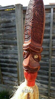 Taiaha Maori New Zealand