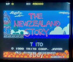 Taito The New Zealand Story Arcade Jamma PCB Working NewZealand 1988
