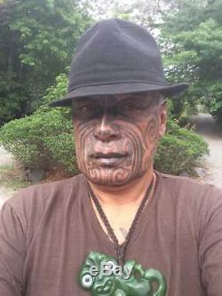 Te Kaha New Zealand Black Tangiwai Greenstone Pounamu Rei Niho Shark Tooth