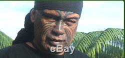 Te Kaha Nz Greenstone Nephrite Jade Maori Pounamu Koru Carved Paperweight