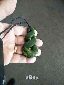 Twist Carving Flower Jade Top Quality Peter Cleghorn