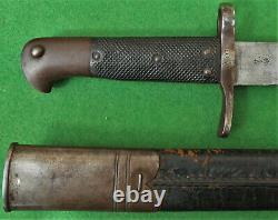 ULTRA RARE New Zealand SAWBACK SNIDER Carbine BLADE = 1 of ONLY 2600 Ever made