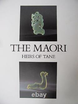 UNIQUE ANCIENT DESIGN 2 Sided MANAIA Maori Greenstone Pounamu Jade by ALAN BROWN