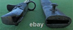 Ultra RARE New Zealand Pattern N2 SNIDER SAWBACK Rifle BAYONET & Scabbard