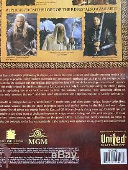 United Cutlery The Hobbit Glamdring Sword of Gandalf UC2942. Sealed In Box