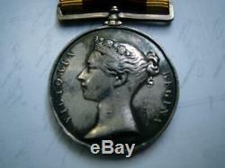Victorian China Opium War 1842 medal J Burton Ord HMS North Star ent New Zealand