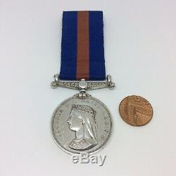 Victorian New Zealand 1861-1866 Maori Wars Medal 2nd Waikato Regiment Johnstone