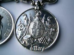 Victorian New Zealand medal pair James McGarty 40th Rgt & Q M Sgt Irish Rifles