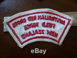 Vietnam War Australian & New Zealand Nurses Red Cross Field Force Shoulder Title