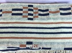 Vintage MINT MOSGIEL Woolens MANATUNGA Rug / Blanket Maori New Zealand