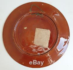 Vintage Maori New Zealand Crown Lynn Wharetana Ware Plate PUHI TAMAHINE Kiwiana