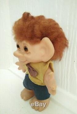Vintage Thomas Dam Troll toy New Zealand