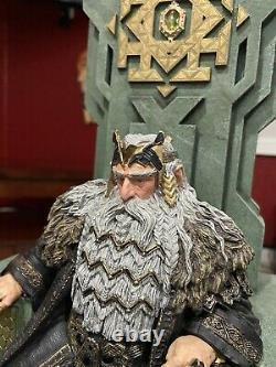 WETA Lord Rings LOTR Hobbit King Thror on Throne 1/6 Statue #909/1000! L@@K