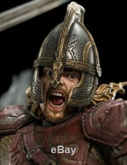 WETA Lord of the Rings Eomer on Firefoot NEW SEALED STATUE still in SHIPPING BOX