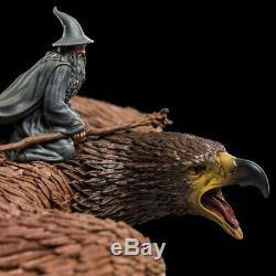 WETA Lord of the Rings NEW Gandalf on Gwaihir Mini Statue Wizard Windlord