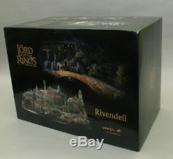 WETA WORKSHOP LOTR Rivendell Environment - Low #13 With Limited Edition Print